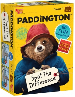 Paddington Bear Spot The Difference najdi rozdíly hra