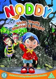 DVD Noddy: Tricks, Treats, Mischief & Magic Noddy v angličtině
