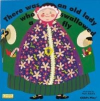 There Was an Old Lady Who Swallowed a Fly (incl. CD)