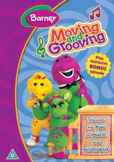 DVD Barney - Moving And Grooving