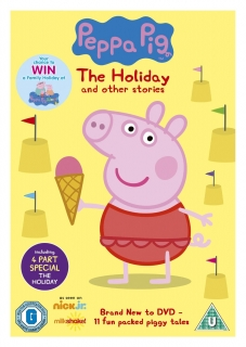 DVD Peppa Pig: The Holiday