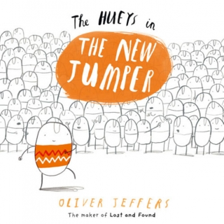 The New Jumper (The Hueys) by Oliver Jeffers + CD