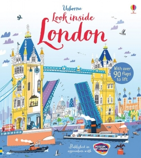 Look inside London interaktivní knížka