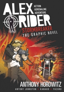 Stormbreaker Graphic Novel - komiks Anthony Horowitz