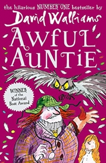 Awful Auntie by David Walliams kniha v angličtině