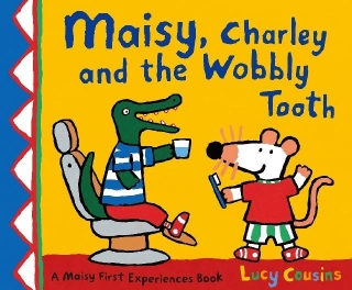 Maisy, Charley and the Wobbly Tooth v angličtině u zubaře