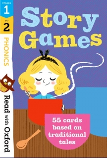 Phonics Story Games Flashcards
