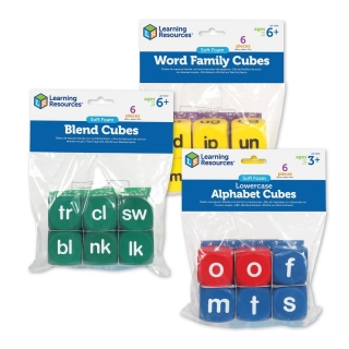 Soft Foam Phonics Cubes Set anglická abeceda