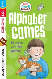 Alphabet Games Flashcards Cards anglická abeceda