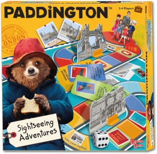 Paddington Sightseeing Adventures Game hra s Paddingtonem