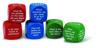 Reading Comprehension Cubes práce s anglickým textem