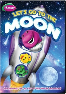 DVD Barney: Let's Go to the Moon Barney anglicky