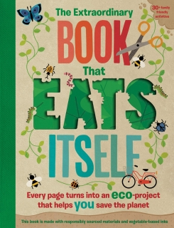 The Extraordinary Book That Eats Itself ekologie v angličtině
