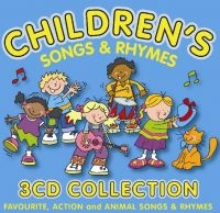 3x CD Children's Songs and Rhymes anglické říkanky