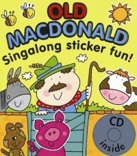 Old MacDonald Sticker and CD Book pracovní sešit